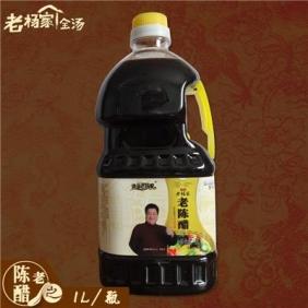 河南特產逍遙秋葵视频色版老陳醋純糧釀造手工涼拌餃子拌菜醋1L